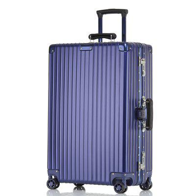 Vintage Brushed and Scratch Proof Suitcase