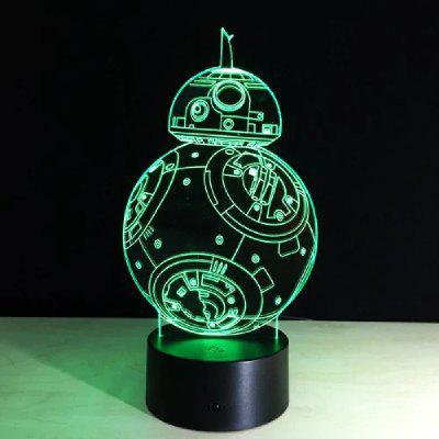 YEDUO 3d Star Wars Figur Nacht für Kinder Touch LED USB Table Lampara