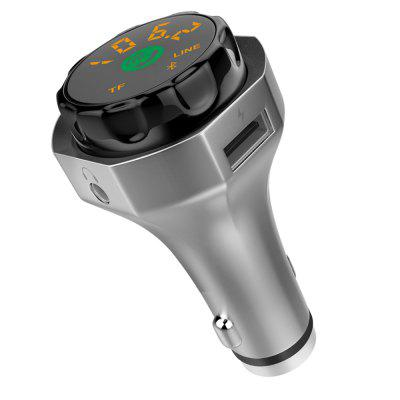 ZIQIAO AP06 Wireless Bluetooth 4.2 FM Transmitter MP3 Player Car Charger Kit