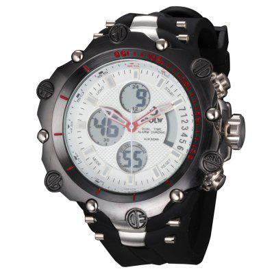 Military Army Luxury LED Sports Casual HPOLW Mens Watches Digital Watch Quartz