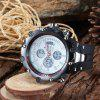 Military Army Luxury LED Sports Casual HPOLW Mens Watches Digital Watch Quartz - WHITE
