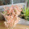 Vivid Living Coral Modern Artificial Leaves Home Wedding Party Decorations - MULTI-A