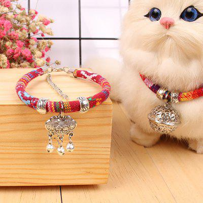 Creative Accessories Pet Multiple Bells Collars Dog and Cat Collars