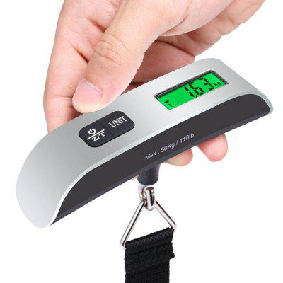 Digital Scale New 50KG/10G Portable LCD Digital Hanging Luggage Scale