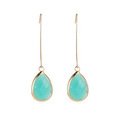 Fashion Jelly Drops Pendent Earrings
