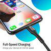 TIEGEM Cable for iPhone Fast Charging Data Cable - BLACK