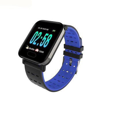 A6 Smart Watch Heart Rate Blood Pressure Monitor Sport Fitness Tracker