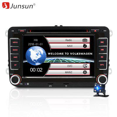 Junsun 2531-S 7 '' 2 din Car DVD Radio Player GPS Navigation for VW Golf / 6 / G