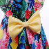 Fashion Flowers Printing Elegent Party Princess Dress For Girl Kids Clothes - MULTI-A