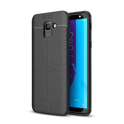 Explosion-Proof TPU Soft Dermatoglyph Back Phone Case For Samsung J6 2018