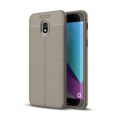 Explosion-Proof TPU Soft Dermatoglyph Back Phone Case For Samsung J7 2018