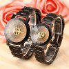 Fashion Leisure Compass Turntable Steel Band Quartz Lovers Watch - MULTI-A