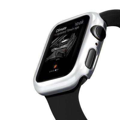Plating Bumper Case for Apple Watch Series 4 Protector Plastic Frame 40 44mm