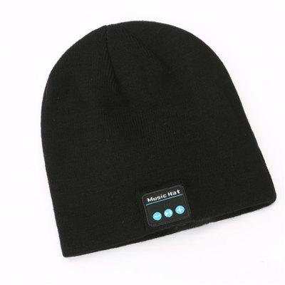 Bluetooth Multi-Function 4.2 Wireless Stereo Sports Headphone Smart Knit Hat
