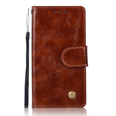 Premium PU Leather Flip Wallet Case for Sony Xperia XZ1 Compact