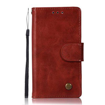 Premium PU Leather Flip Wallet Case for Sony Xperia X Compact
