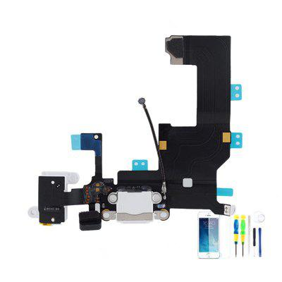 Tail Plug Flex Cable Audio Earphone Charging Cable Assembly Plug For IPhone 5