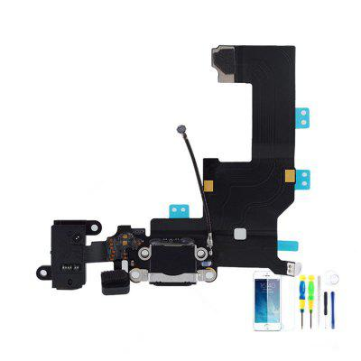 Tail Plug Flex Cable Audio Earphone Charging Cable Assembly Plug For IPhone 5S