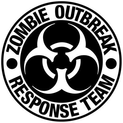 OUTBREAK Car Decoration Sticker Removable