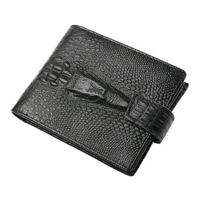Leather Wallet Men Zipper Top Quality Men Wallets Leather Purse with Coin Pocket