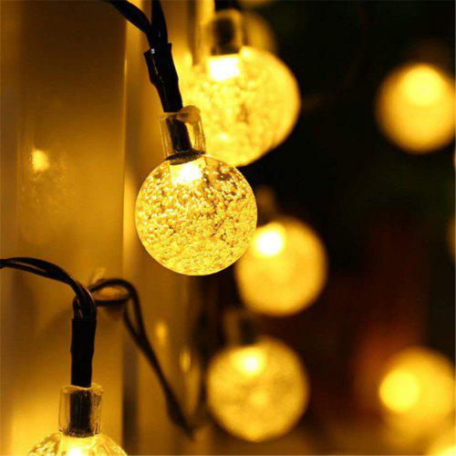 Led Lamp String Crystal Ball Bubble