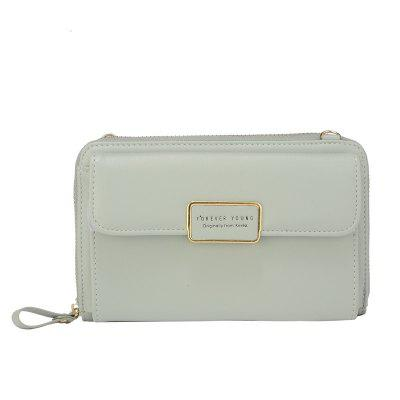 Lovely Double-Purpose Banner with Oblique Wallet and Mobile Bag