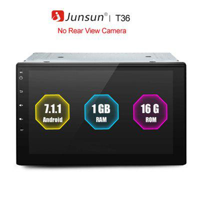 Junsun T36 2 Din Android 7Car DVD Radio Multimedia Player For Nissan GPS