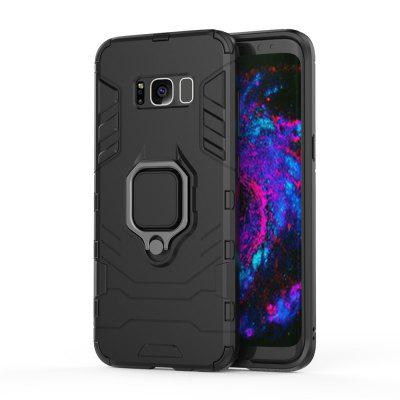 Ring Buckle Kickstand Armour Case for Samsung Galaxy S8