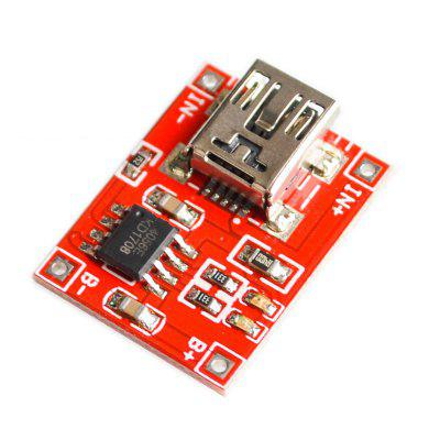 Red plate TP4056 lithium battery charging module