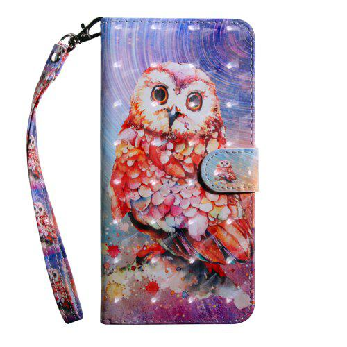 quality design 10ea1 2b2bb 3D Color Painting Flip Wallet Phone Cover for Nokia 2 Case