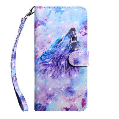 Custodia a libro Flip Wallet per 3D Color Painting per Nokia 5 Case