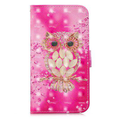 3D Luxury Flip Wallet Case for  Iphone 5 / 5s / se  PU Leather Phone Case