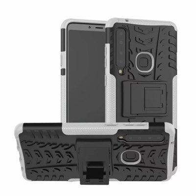 Shockproof with Stand Back Cover Armour Hard PC for Sansung Galaxy A9 2018 Case