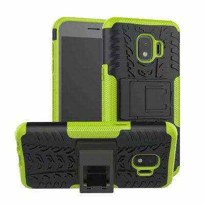 Shockproof with Stand Back Cover Armour Hard PC for Samsung Galaxy j2 Core Case