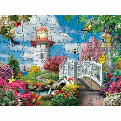 3D Jigsaw Paper Soft Bonito Puzzle Puzzle Assembly Toy Aniversário