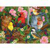 Birds Eating 3D Jigsaw Puzzle Paper Block Assembly Birthday Toy - WIELO