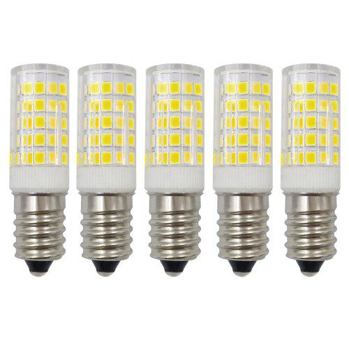 E14 Led Bulb 4w Dimmable 30w Equivalent Ac220v 300lm Bipin Ceramic Base 5 Pack