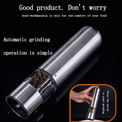 stainless steel electric pepper grinder