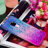 For Huawei Mate 20 Side Drill + Gradual Change Quick Sand Sheath - MULTI-A