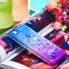 For IPhone 5/IPHONE5S Side Drill + Gradient Color Quick Sand Cover - MULTI-A