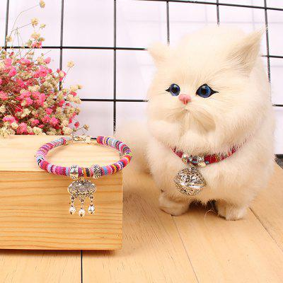 Creative Accessories Pet Multiple Bells Collars Dog and Cat Necklaces