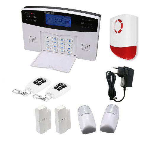 GSM Wireless Home Alarm Security Burglar System with Android IOS APP Control