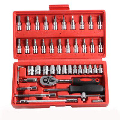 Car Tool Assembly Set Hand Hardware Tool Spanner Assembly Tool Set