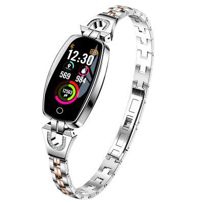 Women Smart Watch with Heart Rate Monitor Blood Pressure  Fitness Tracker Watch Image