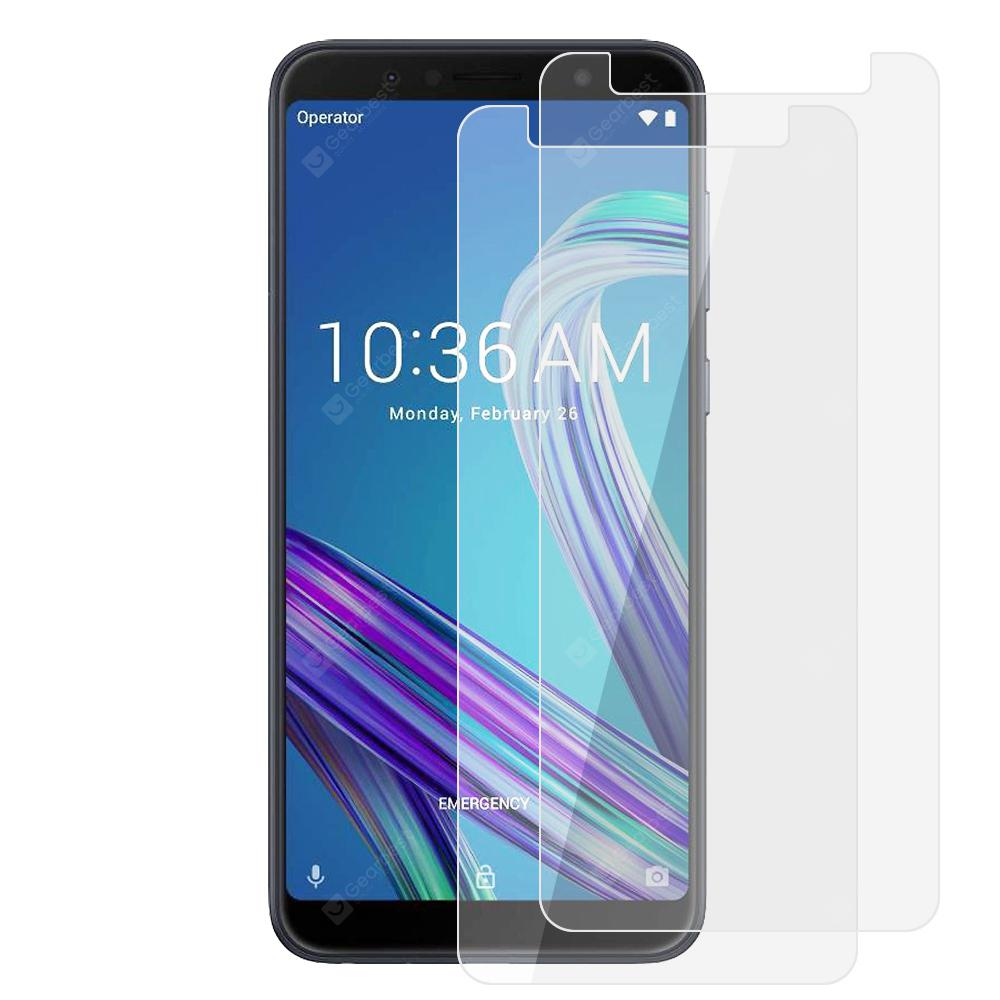 2pcs 9H Tempered Glass Screen Protector Film for ASUS Zenfone Max Pro ( M1 )