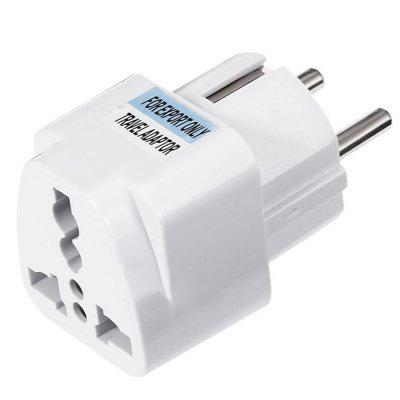 Minismile 2500W EU Plug Standard Travel Power Adapter Charger