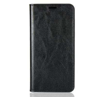 Genuine Leather Wallet Flip Case for Xiaomi Mi A2