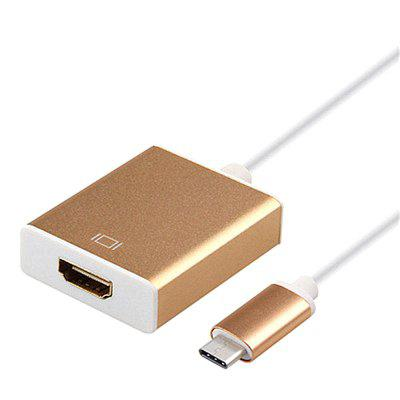 USB C To HD Type C To HD Adapter USB 3.1 USB-C Converter Support 1080P