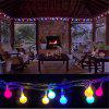LED Festive Lights String Christmas Lights Decorated Stars Wedding Colorful Flow - MULTI-A