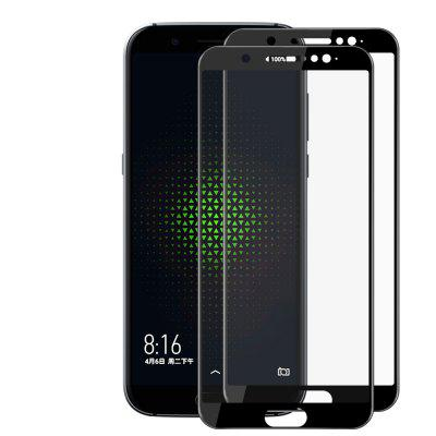JOFLO 2pcs 3D Tempered Glass Full Cover Screen Protector for Xiaomi Black Shark